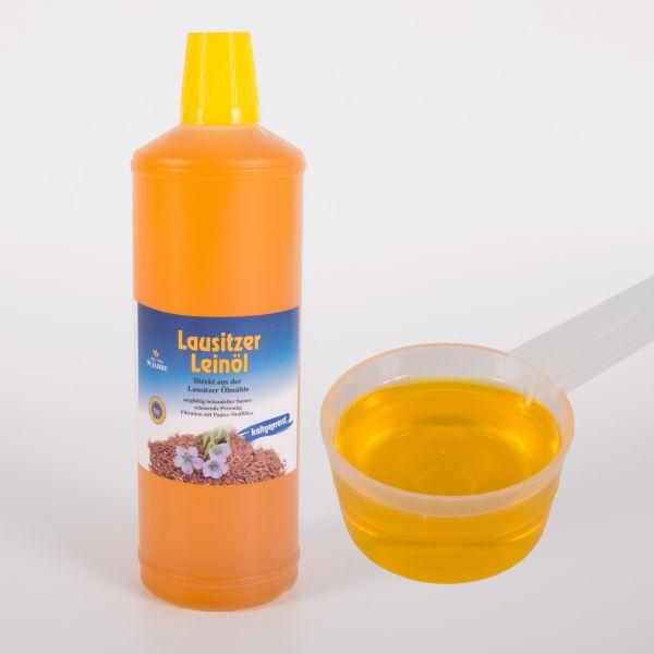 Leinöl für Pferde, kaltgepresst in Top-Qualität